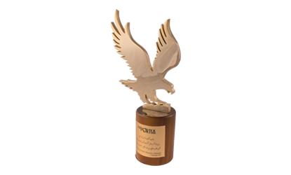 تندیس و نشان عقاب طلایی مدیریت موفق