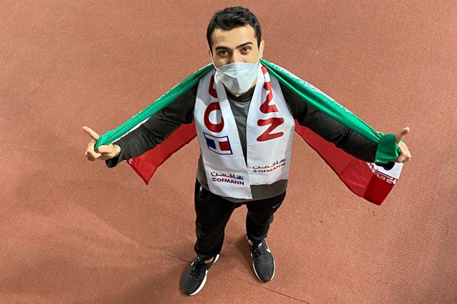 تغییر رکورد ملی ماده 200 متر بعد 17 سال توسط سجاد هاشمی